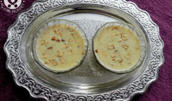 Brown Rice Flakes Kheer Recipe