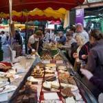 Borought market, uno dei mercatini di Londra