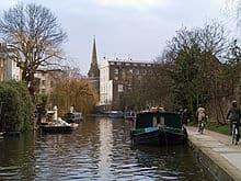 I canali di Londra, Regents Canal
