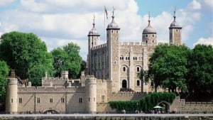 La torre di Londra, una delle attrazioni più visitate della capitale
