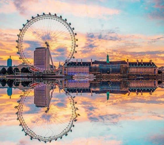 Il London Eye a Londra