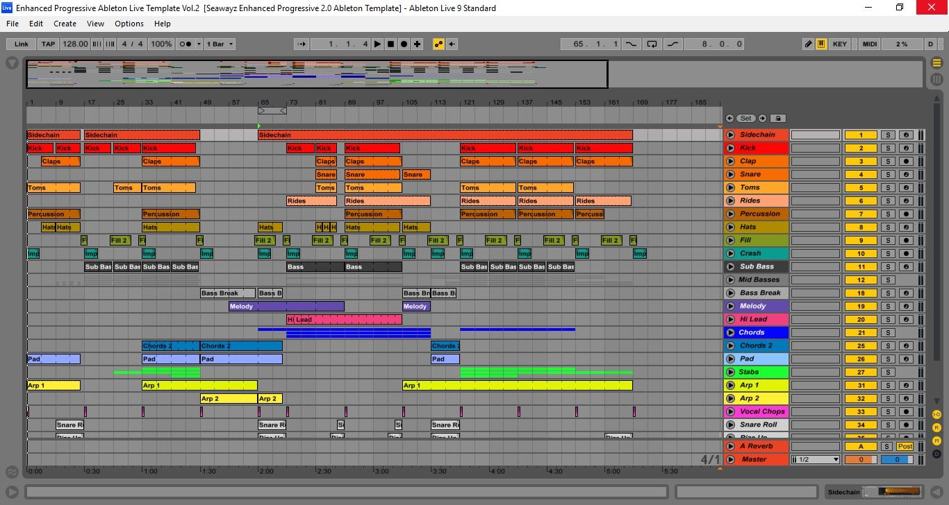 Ableton Live Templates Choice Image Free Templates Ideas