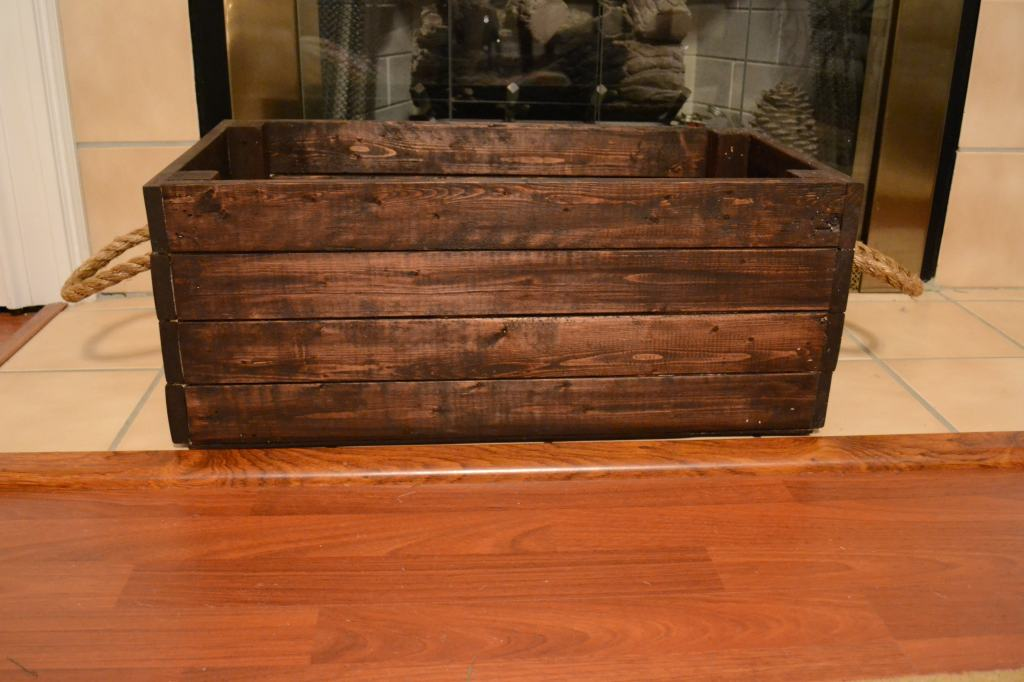 """""""Crate with Rope Handles"""""""