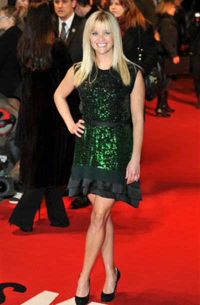 """Reese Witherspoon Wearing Emerald"""