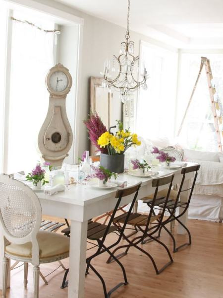 """french country dinning room"""