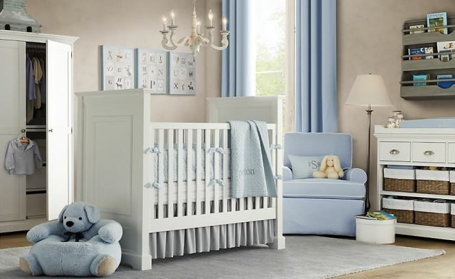 """Blue and White Nursery"""