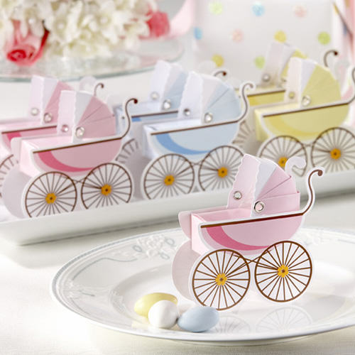 """Baby Carriage Favor Box"""