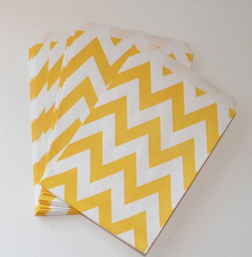 """Chevron Favor Bags"""
