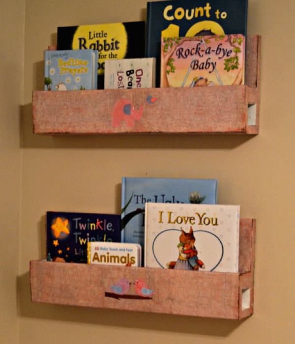 """wall mount bookshelves"""