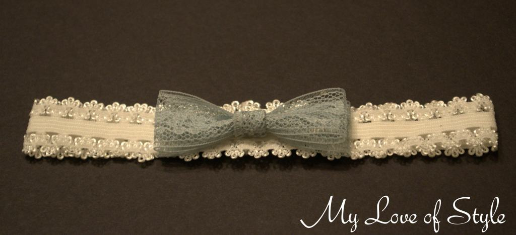 """DIY No Sew Lace Hair Bow"""