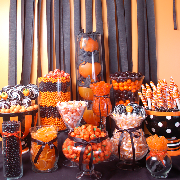 How To Create A Halloween Candy Buffet My Love Of Style