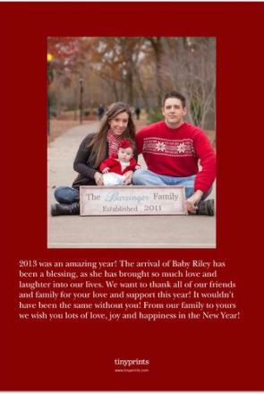 Barringer 2013 Christmas Card (back)