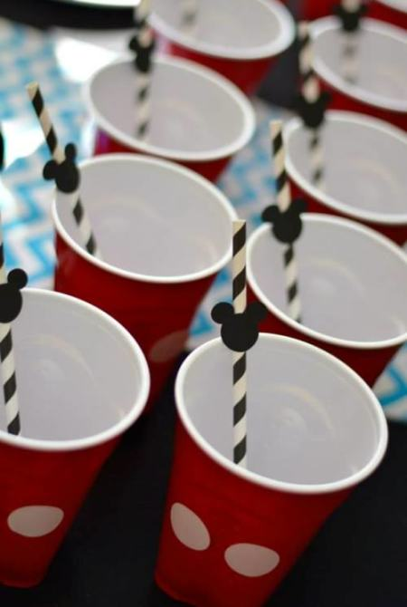 Mickey Mouse cups