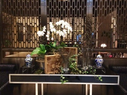 Florals by the elevators