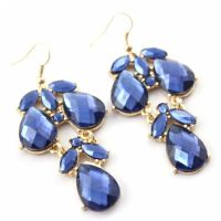 Elegant Multi Drop Earrings GEMBLUE