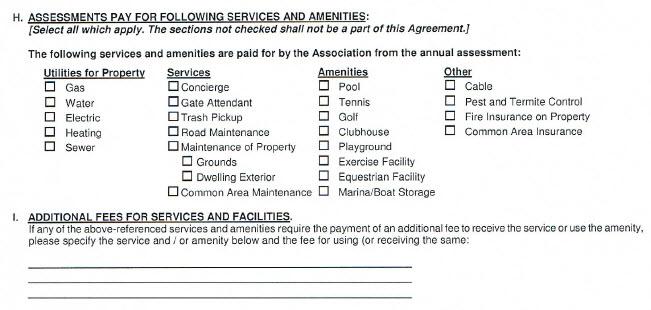 Community Association Disclosure What Is It