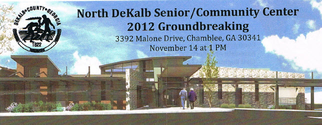 Chamblee Breaks Ground for New Senior Community Center