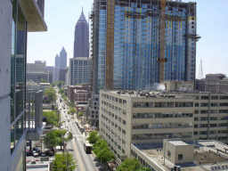 Spire Midtown Atlanta Under Construction 2006