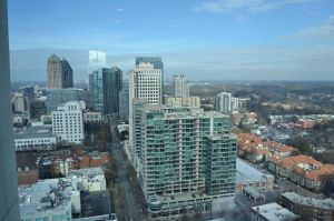 Midtown Skyline From Spire Feb 2014