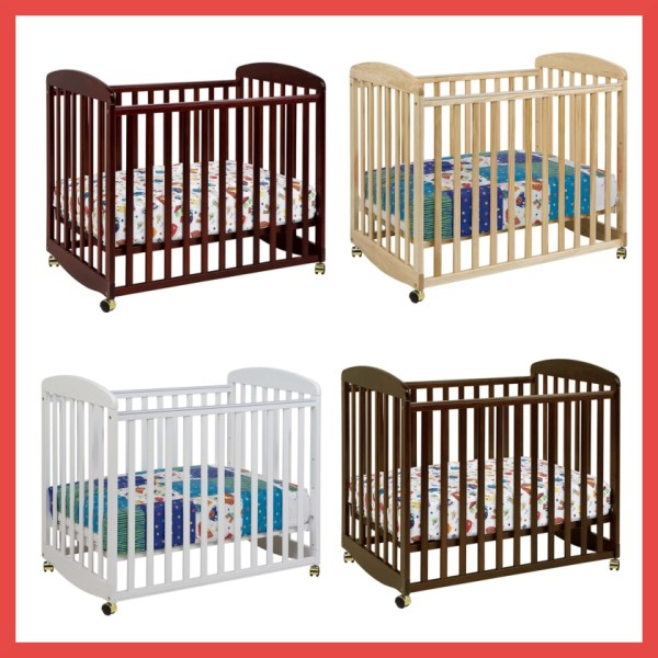 DaVinci Alpha Mini Crib Colors