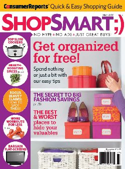 ShopSmart Magazine Reveals Top Savings Websites & Phone Apps