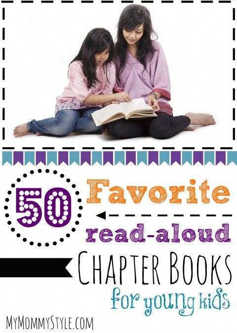 50 favorite read-aloud chapter books