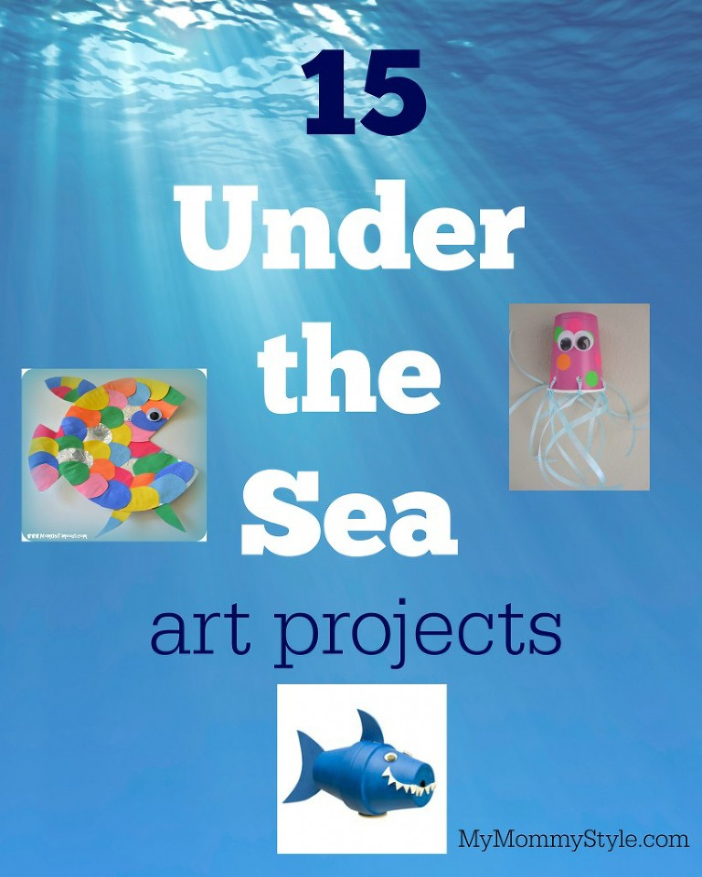 15 under the sea art projects