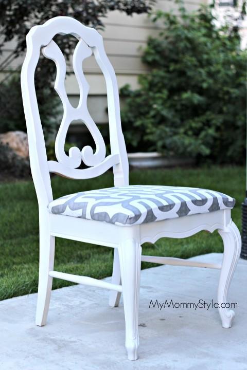 Refinishing Kitchen Chairs