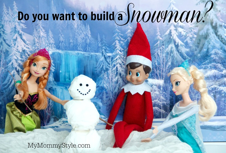elf on the shelf, do you want to build a snowman