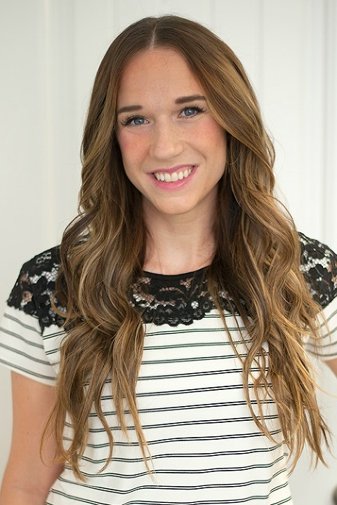 loose wave tutorial, fast and easy, wavy hair, beachy waves