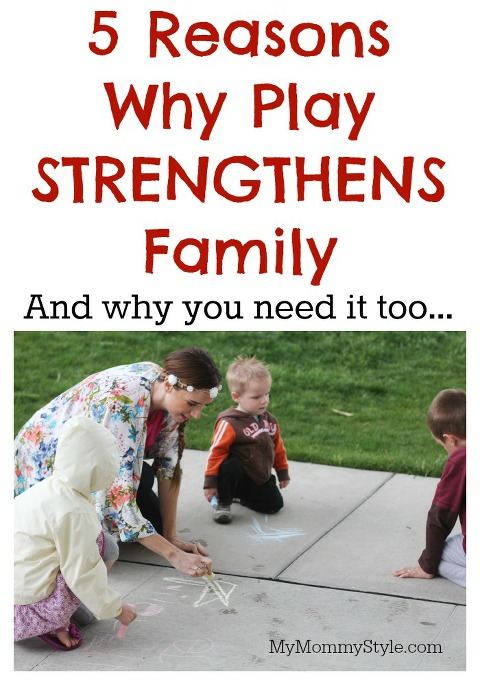 Play Strengthens Family, Strengthen family, mymommystyle, quaker
