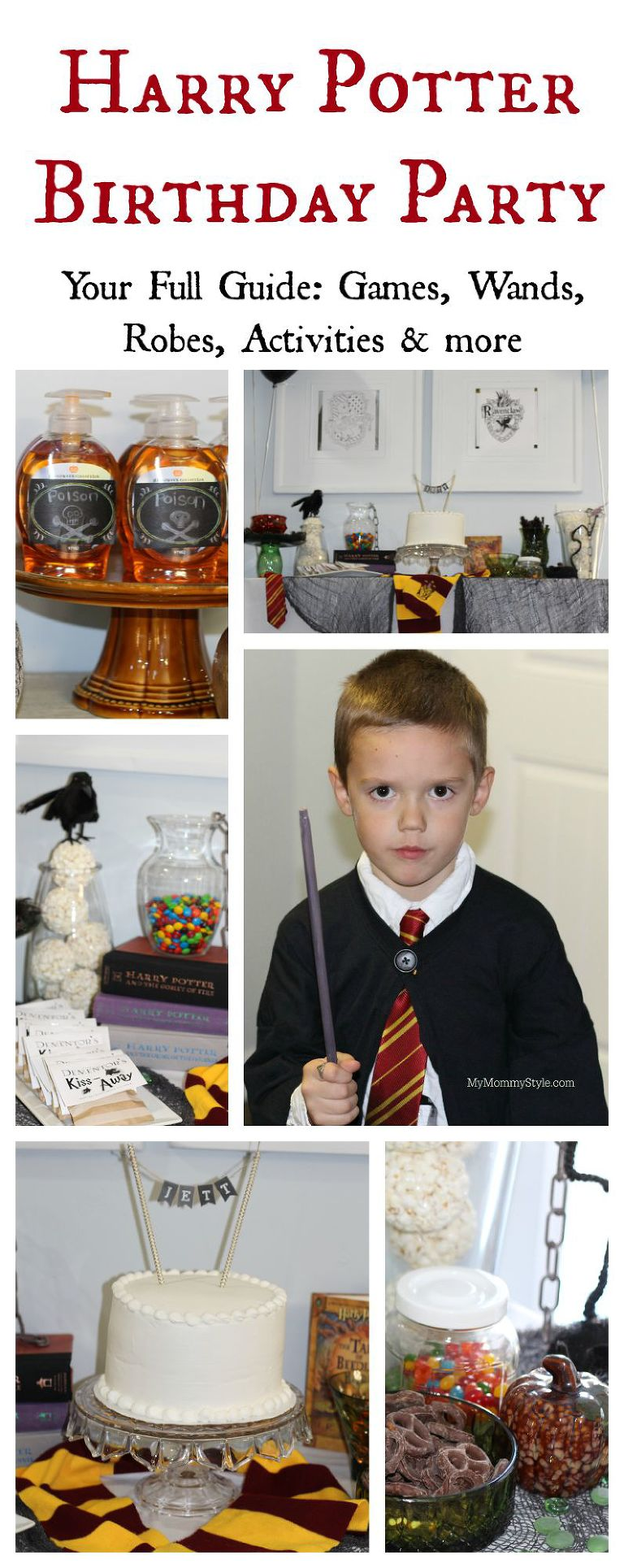 Harry Potter birthday party, harry potter, party, baby harry potter party, mymommystyle