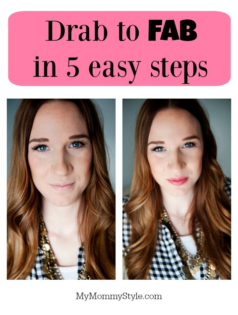 drab to fab, beauty tips, mymommystyle, burt's bees, beauty, make up