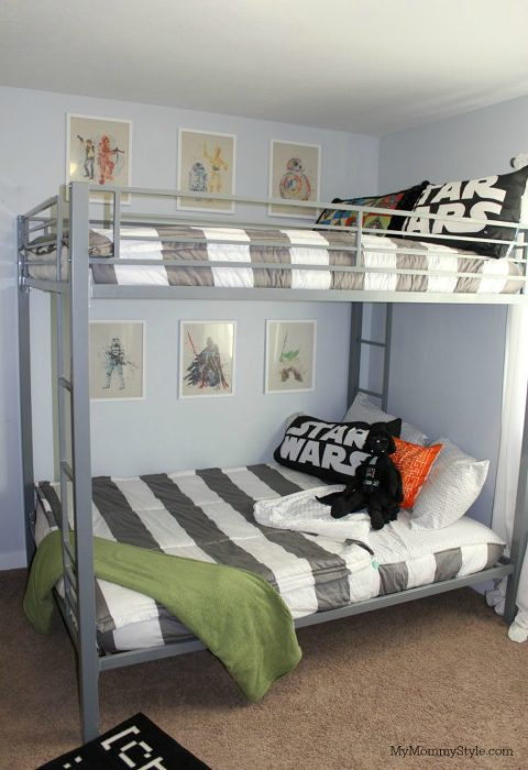 Shared Star Wars Room - My Mommy Style