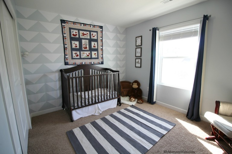 fox nursery, nursery reveal, baby