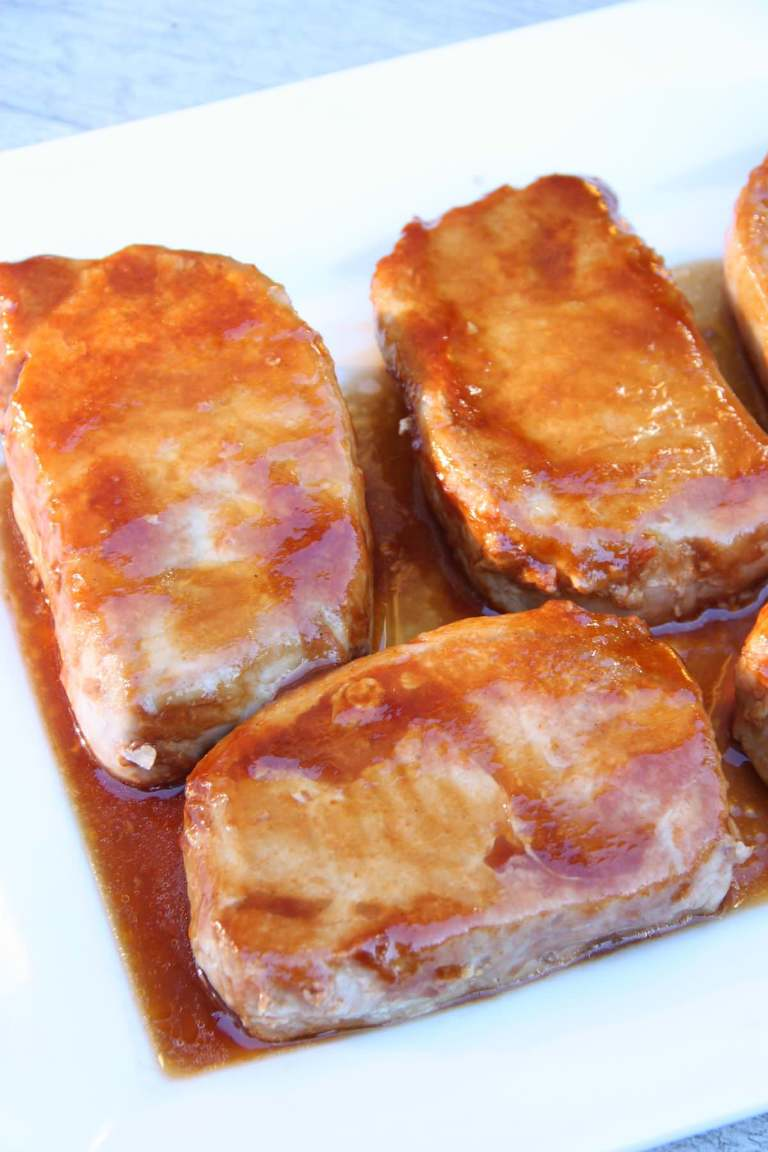 I Used Thick Cut Boneless Pork Chops For This Recipe And They Turned Out Perfectly Moist Juicy On The Inside But Can Certainly Be Adapted