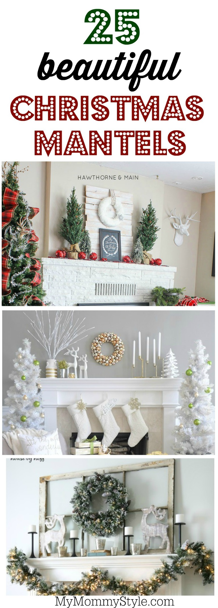 Design Christmas Mantel Ideas christmas mantel ideas my mommy style 25 beautiful decorating ideas