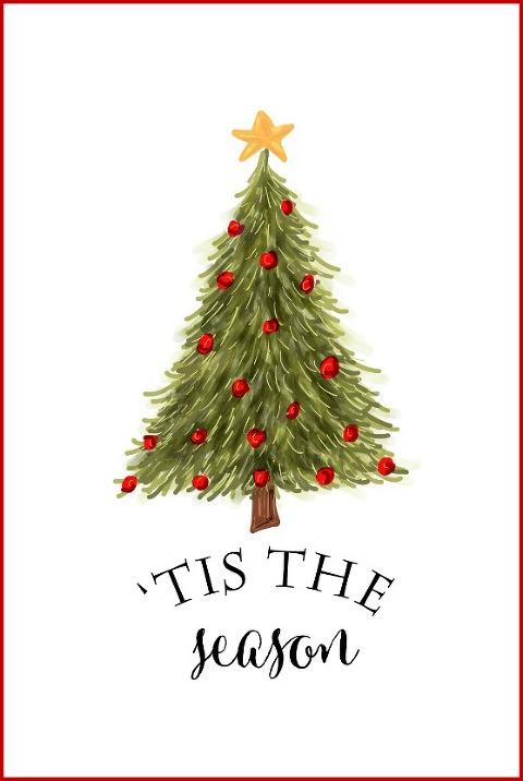 Free Christmas Tree Printable