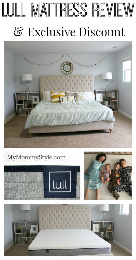 lull mattress review - my mommy style