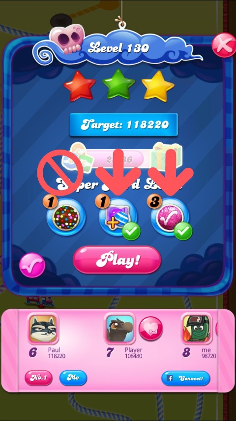 Candy Crush Level 130 Intro
