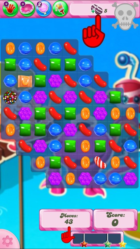Candy Crush Level 130 a