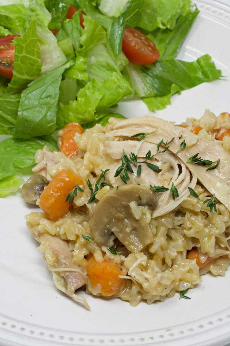 Instant pot chicken and rice - My Mommy Style