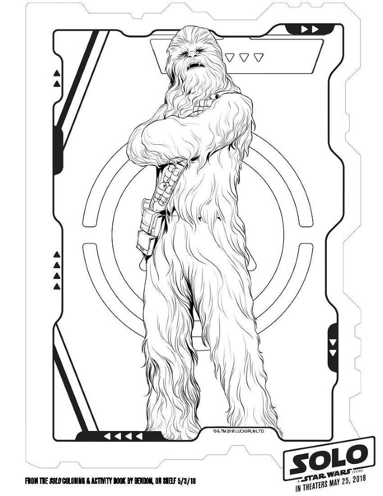 Solo: A Star Wars Story Giveaway, collectibles, and coloring pages