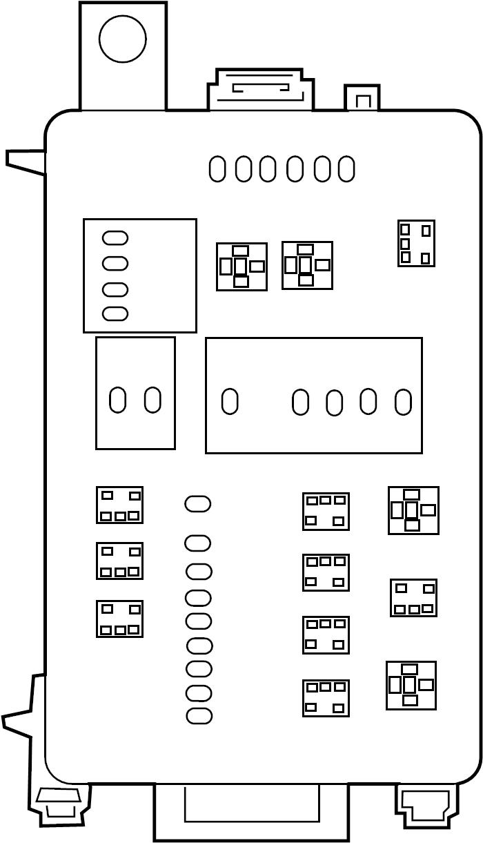 mitsubishi challenger fuse box location