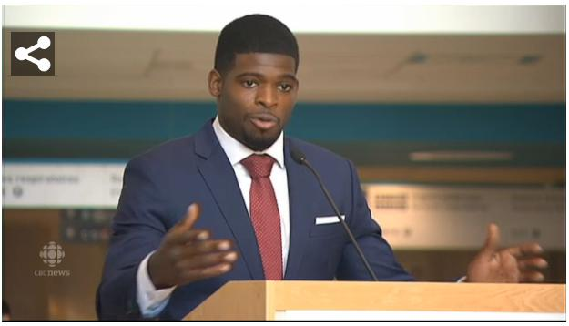 Montreal Children's Hospital receives $10 million from P.K. Subban