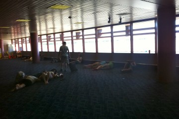 McCarran Airport - Day After 3 Day Shitshow Known as Electric Daisy Carnival