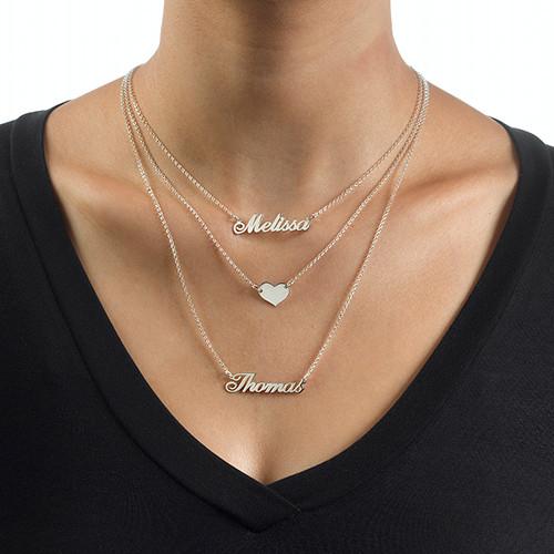 monogram necklace cheap