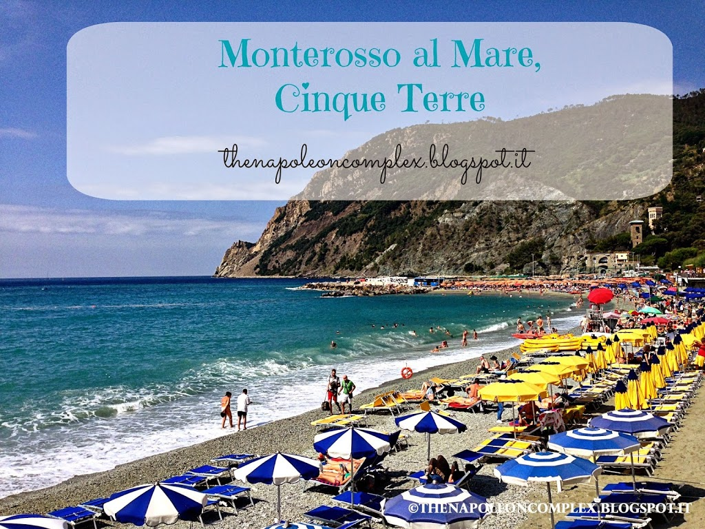 Beach Day in Cinque Terre