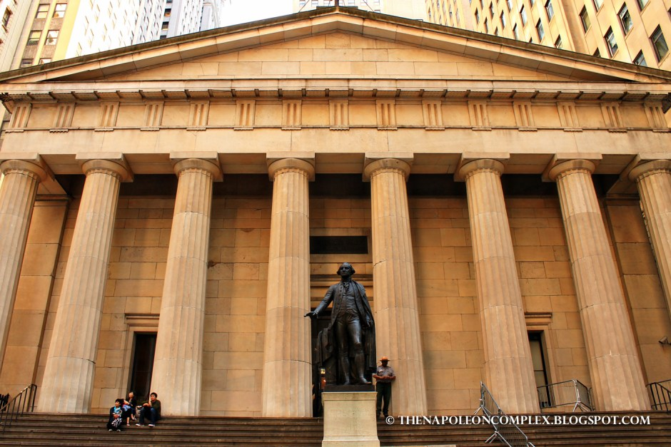 Picture of Federal Hall, NYC