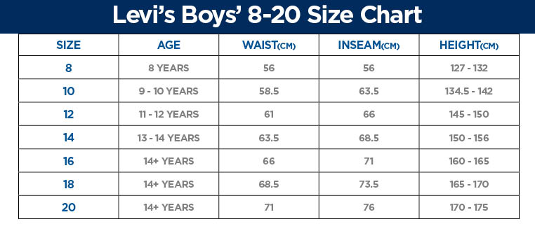 Boys 8 20 Size Guide - Professional User Manual EBooks \u2022